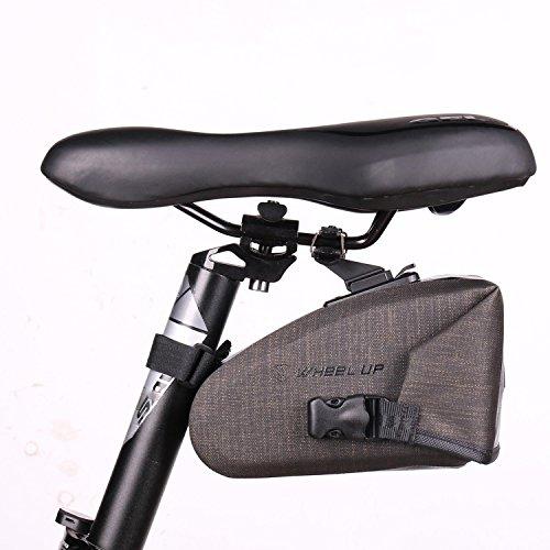 Asvert Bolsa de Sillín Bicicleta MTB...