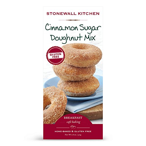 Stonewall Kitchen Gluten-free Cinnamon Sugar Doughnut Mix, 18 Ounces