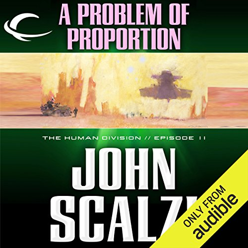 A Problem of Proportion audiobook cover art