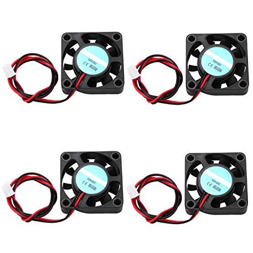 Pinsofy Ventilador de refrigeración 3D de Larga Vida útil, Ventilador de refrigeración, para Impresora 3D Impresora doméstica Interior