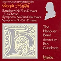 Haydn: Symphonies 73, 74 & 75 (The Hanover Band)