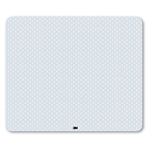 3M Precise Mouse Pad, Optical Mouse Performance, Battery Saving Design, Easy to Clean, 13' x 11' for Gaming, MP114L-BSD3,Interlace