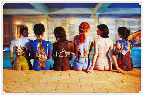 209191 Pink Floyd   Póster de Portadas de Discos en Mujeres (91,5 x 61 cm)