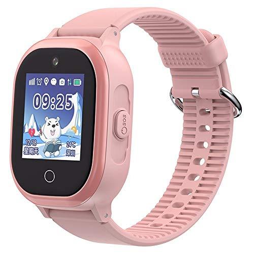 ZAKRLYB GPS Kinder intelligente Uhr Telefonposition Kinderuhr 1,3 Zoll Farbe Touchscreen Frau SOS Smart Baby Uhren Tracker Frauen Männer Kompatibel ios Android Für Kinder 3-12 Geburtstagsgeschenk