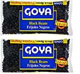 Goya Black Beans Dry 14 oz (Pack of 2)