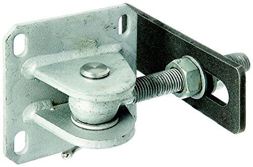 GAH-Alberts 418656 Torband mit Platte zum Aufschrauben, feuerverzinkter Stahl und Edelstahl, Gewinde: M20