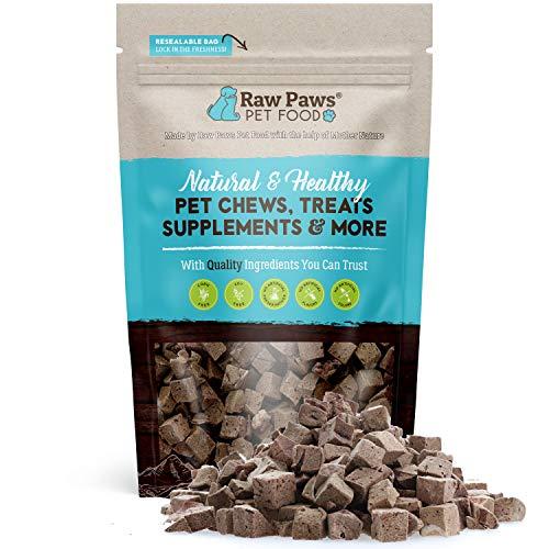 Raw Paws Freeze Dried Lamb Liver Dog Treats, 4-oz...