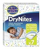 Huggies, Alèses absorbantes jetables pour lit simple (88 x 78 cm), Pour enfants de 3...