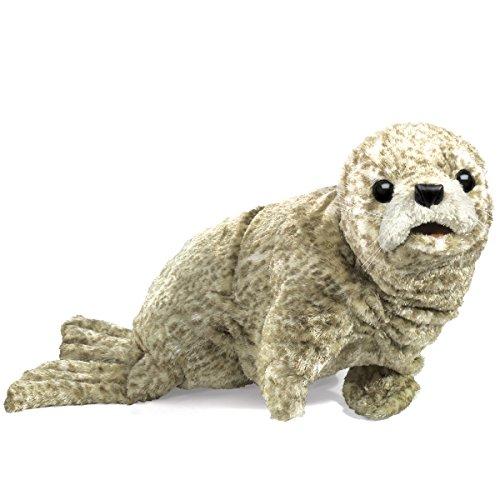Folkmanis Harbor Seal Hand Puppet