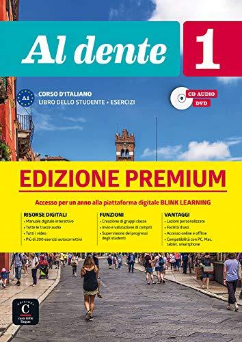 Al dente 1 (A1). Libro dello studente+ esercizi + CD + DVD + Premium