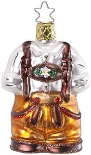Inge Glas Bavaria German Gear 1-046-12 German Blown Glass Christmas Ornament