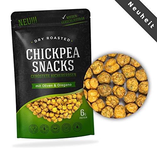 Chickpea Snacks geröstete Kichererbsen Studentenfutter Proteinquelle 150g