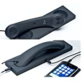 Retro Handset,Cell Phone Handset,Retro Telephone Handset Anti Radiation Receivers 3.5MM for iPhone iPad,Mobile