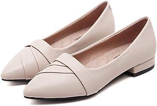 [イノヤシューズ] パンプス 痛くない ローヒール ぺたんこ ブラック ベージュ 大きいサイズ 歩きやすい 疲れにくい 走れる オフィス 立ち仕事 ソフト 小さいサイズ 通勤 レディース靴 22.0cm~26.0cm
