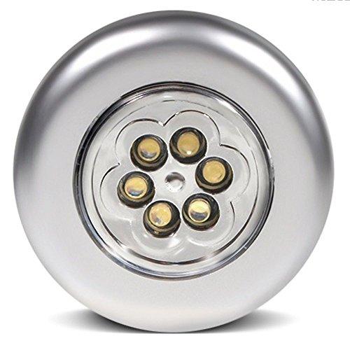 Maclean MCE27 LED 6xLED Touch Push Licht Selbstklebend Lampe Leuchte Schrankleuchte Unterbauleuchte