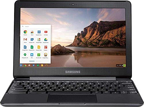 Samsung Newest Chromebook 3 Flagship High Performance 11.6in HD Laptop PC   Intel Core Celeron N3060   4GB RAM   32GB eMMC   Bluetooth   WIFI   Chrome OS (Renewed)