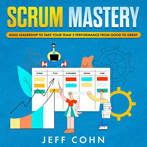 Scrum Mastery audiobook cover art