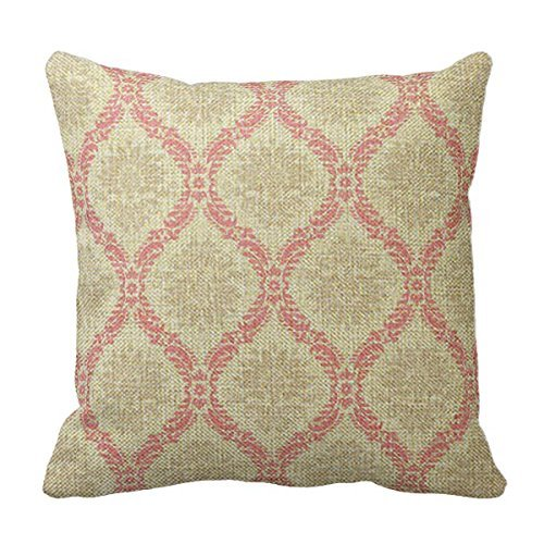 Cotton linen pillow cover Hugo en lin/coton Couvre-lit décoratif Taie d'oreiller Housse de coussin 50,8 x 50,8 cm Meilleur Cadeau pour Somesone # 088
