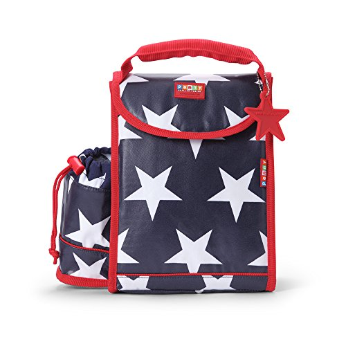 Penny Scallan BLUNAS Kinder Lunchbox/Kinderrucksack Navy Star