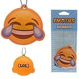 STOCK 6 PEZZI Deodorante per Auto Emoticon Emoji Risata Lol Miritillo