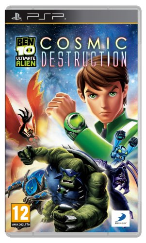 Ben 10 Ultimate Alien: Cosmic Destruction (PSP) [Importación inglesa]