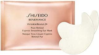Shiseido Benefiance Wrinkle Resist 24 Pure Retinol Express Smoothing Eye Mask for Unisex