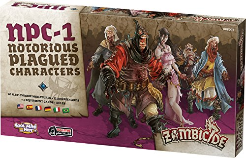 Asmode- Zombicide Black Plague: Notorious Plagued Char.#1, EFCMZB11, Strategiespiele