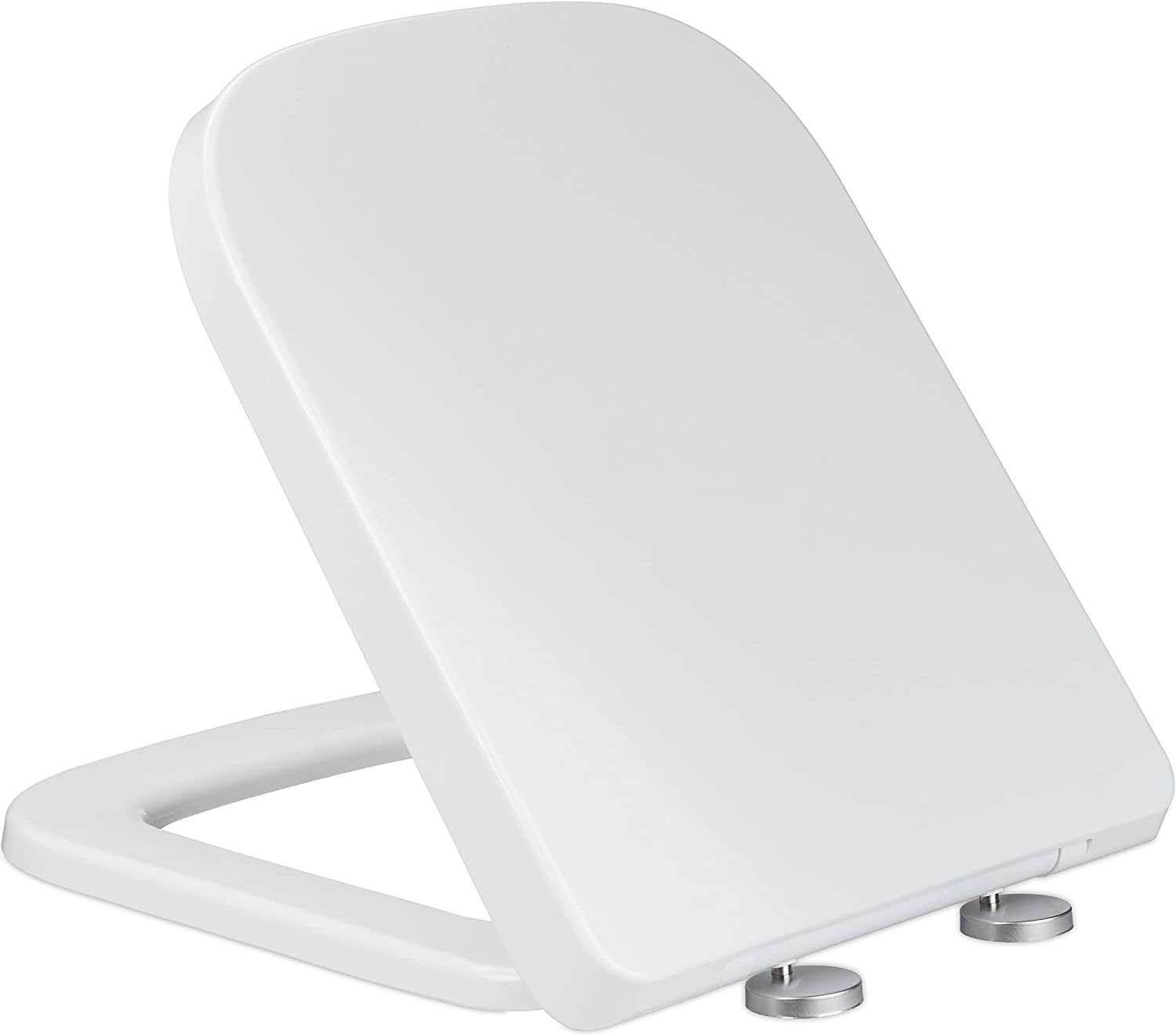 Relaxdays Toilet Seat with Soft-Close Mechanism Denver Mall Memphis Mall 35 D 43 c x W