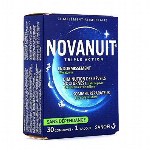 Novanuit Sommeil Triple Acción – Comprimidos sin dioxido