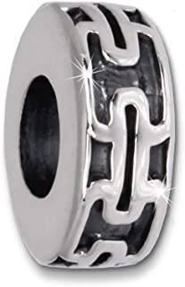 Imppac bead pato 925er plata pulsera beads sbb264