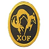 Metal Gear Solid XOF Skull Face PS PS4 Xbox Cosplay Embroidered Hook&Loop Patch