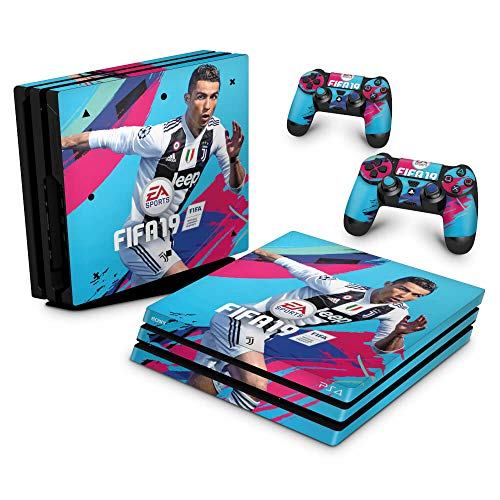 Skin Adesivo para PS4 Pro - Fifa 19