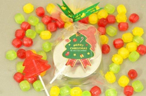 クリスマス キャンディー缶 3ケース 60個入り