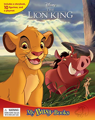 Compare Textbook Prices for Disney Lion King My Busy Books  ISBN 9782764349113 by Phidal Publishing Inc