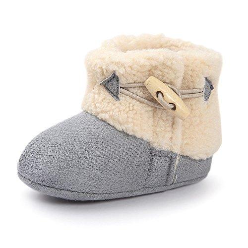 Matt Keely Bebé Niño Niña Botas de nieve Niñito Calentar Zapatos de invierno
