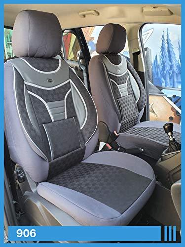 Maß Sitzbezüge kompatibel mit Seat Ibiza III Typ 6L Fahrer & Beifahrer ab 2002-2008 FB:906