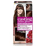 L'Oréal Paris Casting Crème Gloss 454 Brownie Mahonie coloración del cabello Marrón - Coloración del cabello (Marrón, Brownie Mahonie, Bélgica, 73 mm, 83 mm, 170 mm)