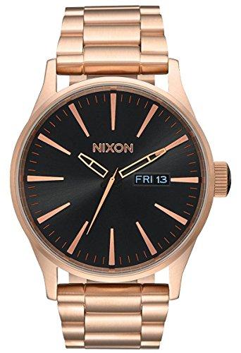 Nixon Unisex Analog Quarz Uhr mit Edelstahl Armband A3561932-00