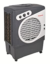a very powerful indoor-outdoor portable evaporative cooler