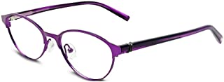 JONES NEW YORK Eyeglasses JNY 137 Purple 49MM