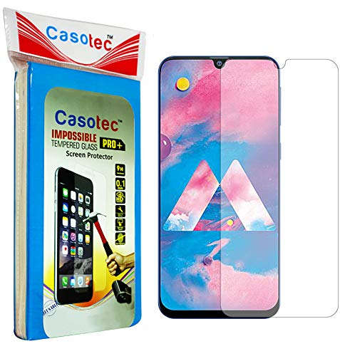 Casotec Hammer Proof Impossible Film Screen Protector [Not a Tempered Glass] Screen Guard for Samsung Galaxy M30