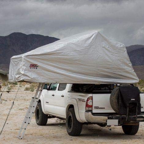 Tuff Stuff Overland Delta Overland Rooftop Tent Xtreme Weather Cover, Gray, NSN N, TS-RTT-EWC-DLT