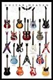 Pyramid International Póster de Guitar Heaven, multicolor, 61 x 91,5 cm