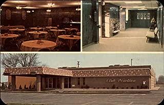 Club Venetian Madison Heights, Michigan Original Vintage Postcard