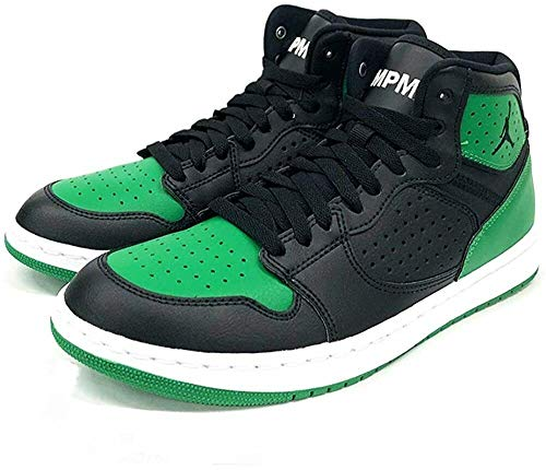 Nike Hombres Jordan Access AR3762 (Negro/Negro Aloe Verde-Blanco 013), color Negro, talla 44 EU