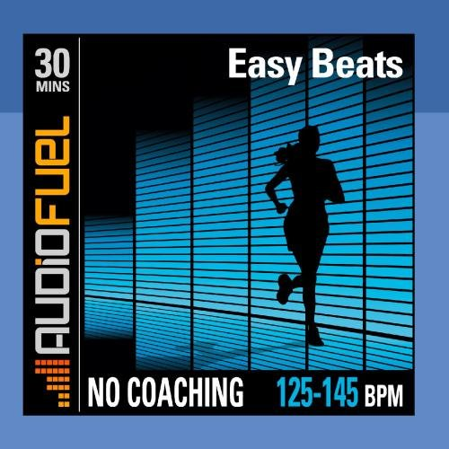 Easy Beats: 30 minutes of low intensity jogging music (125 BPM to 145 BPM). This workout has no voice over coaching.