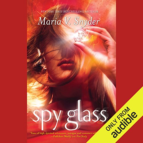 Spy Glass audiobook cover art
