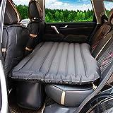 AFDK Auto-Reise-aufblasbare Matratzen-Luftbett-Kissen-kampierende ausgedehnte Luft-Couch, beige,Schwarz