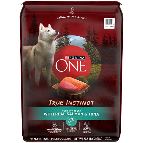 Purina ONE High Protein Natural Dry Dog Food, SmartBlend True...