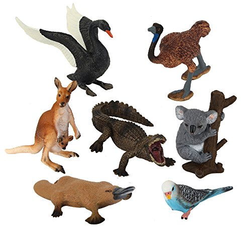 Ericoo Animal Toys Set Educational Resource High Simulation Australian Animals Figures with CPC Approval ASTM Test -Anim005